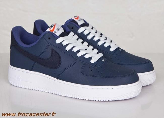air force 1 bleu marine daim