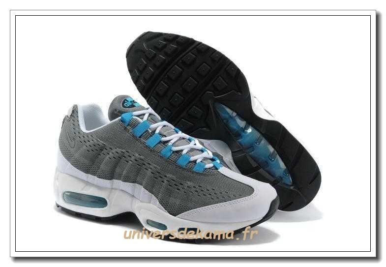 new style aac21 74277 2018 Nouveau   Chaussures de course pour - Nike Air Max 95 ESSENTIAL Blanc  807443 061 Pas Cher Magasin ... Nike Femme  q qy Air Max 95 Ultra Violet  Charcoal ...