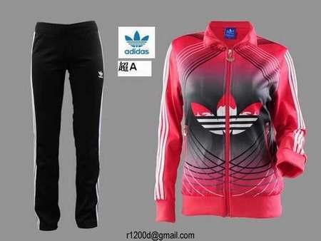adidas Originals Pantalon de survêtement - multicolor scarlet Enfant  Pantalons 95dba5df82d